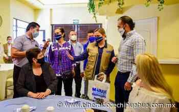 Lleva Maru Campos sus propuestas a Nuevo Casas Grandes - El Heraldo de Chihuahua
