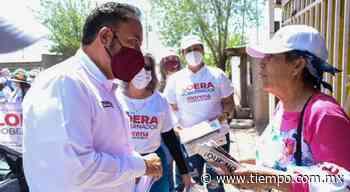 Le piden a Loera en Nuevo Casas Grandes que quite casetas - El Tiempo de México