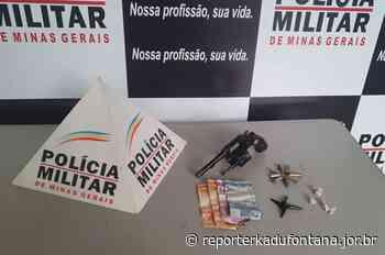 Homem armado é preso pela PM dentro de agência bancária em Cataguases. - reporterkadufontana.jor.br - Reporter Kadu Fontana