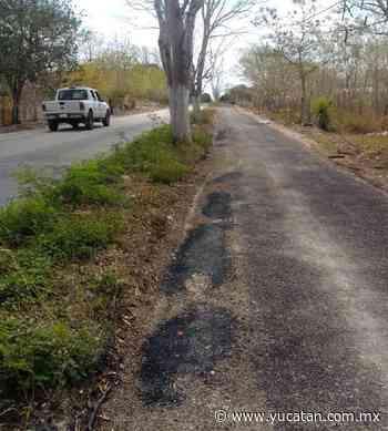 Reparan ciclovía nueva en Izamal - El Diario de Yucatán