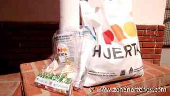 Nueva entrega de semillas en Pilar Centro - zonanortehoy.com