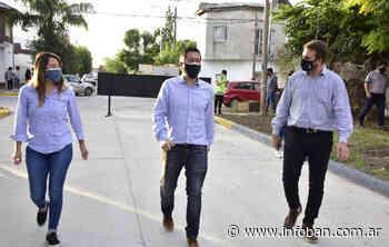 Nardini inauguró pavimentos de las calles Payró y Olazábal en Los Polvorines - InfoBan