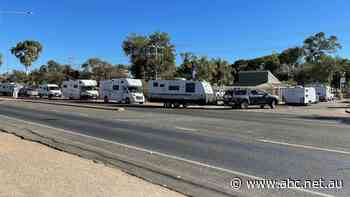 Alice Springs caravan parks are chockers again as the tourism season slots into gear
