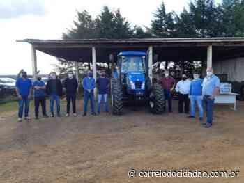 Associações rurais de Turvo fazem parceria para uso de equipamentos – Correio do Cidadão - Correio do CIdadão