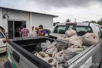 Agricultores de Itabaianinha, Japaratuba, Moita Bonita e Umbaúba entregam 22,5 toneladas de alimentos - 93Notícias