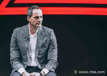 """Arturas Karnisovas: """"We will not settle for mediocrity here."""""""
