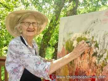 Painter and quilter Beulah Limber thrived in Fernie, B.C.'s artistic community - The Globe and Mail