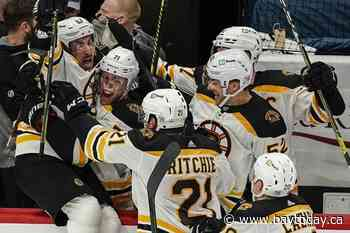 Marchand's OT winner evens Bruins-Capitals series at 1-1