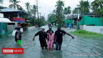 Cyclone Tauktae: Storm weakens after landfall in Covid-battered India