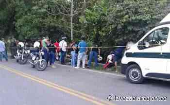 Dos heridos tras accidente de tránsito en la vía Garzón – El Agrado - Huila