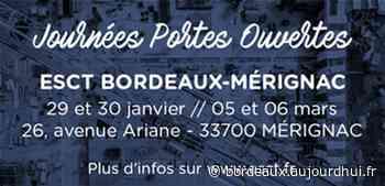 Journées portes ouvertes ESCT Bordeaux-Mérignac - ESCT Bordeaux-Mérignac, MERIGNAC, 33700 - Sortir à Bordeaux - Le Parisien Etudiant - Le Parisien Etudiant