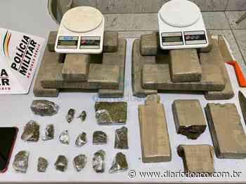 Cerca de 20 Kg de maconha são apreendidos no Bom Jardim, em Ipatinga - Jornal Diário do Aço