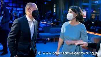 Kanzlerkandidaten: Scholz gegen Baerbock: Ein Duell mit Samthandschuhen