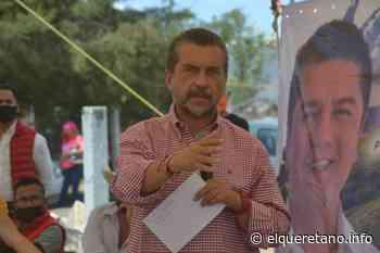 Escucha Hugo Cabrera a productores del campo de Tequisquiapan. - El Queretano