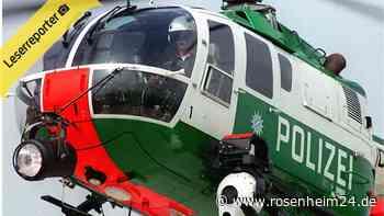 Hubschrauber über Heilig Blut: Polizei sucht vermisste Person