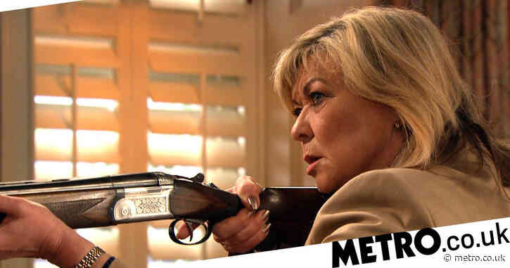Emmerdale spoilers: Kim Tate shoots her poisoner dead as she catches them?