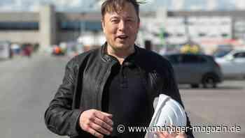 Tesla: Aktie verliert in 3 Monaten 30 Prozent - und Elon Musk Milliarden seines Vermögens