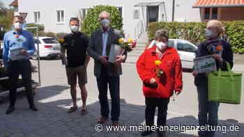 In Petershausen gibt es Fairtrade Rosen zu kaufen