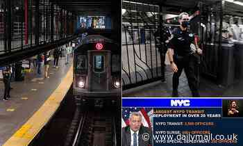 NYC Subway returns to 24 hour service one year after pandemic shutdown amid surge in violent crime