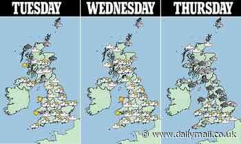 UK weather: Britain is on course for its SOGGIEST May on record