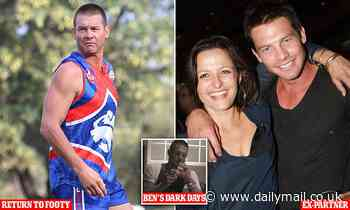 Fallen AFL star Ben Cousins loving park footy in Perth - as he intends to play on in 2021