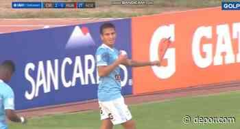 Távara en una nueva faceta: el cabezazo para el 2-0 de Sporting Cristal vs. Sport Huancayo [VIDEO] - Diario Depor