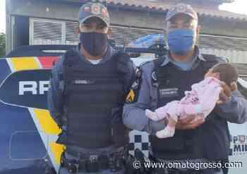 Policiais salvam bebê de nove dias engasgada em Pontal do Araguaia — O Mato Grosso - O Mato Grosso