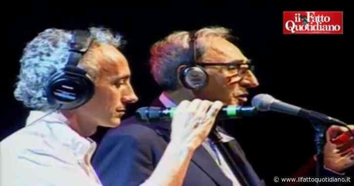 Morto Franco Battiato, quando nel 2012 il cantautore si esibì sul palco della Versiliana insieme a Marco Travaglio