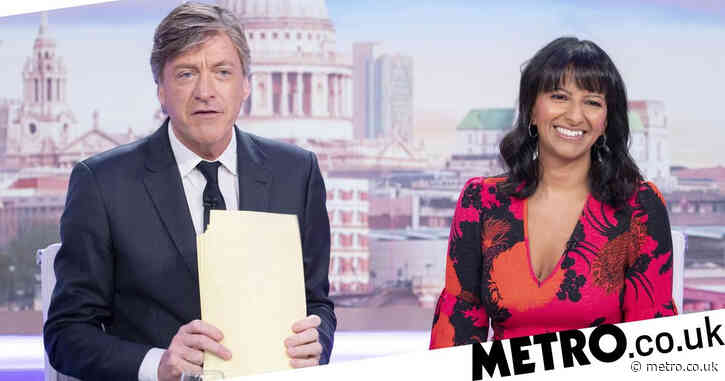 Richard Madeley claims he 'suits' Good Morning Britain job as he's tipped to replace Piers Morgan