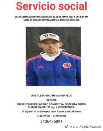 Está perdido, salió de Villamaría - La Patria.com