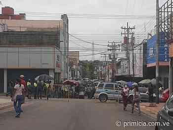 Comerciantes del centro de San Félix afectados por cierre de calles - Diario Primicia - primicia.com.ve