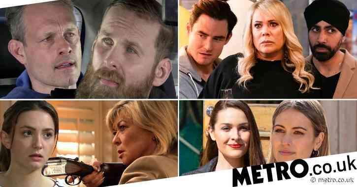 12 soap spoiler pictures: Coronation Street Nick caught, EastEnders eviction shock, Emmerdale shooting horror, Hollyoaks sex twist