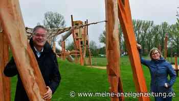 Eröffnung: Ein neuer Abenteuerspielplatz für die Garchinger Kinder