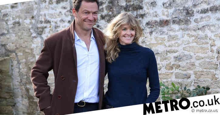 Dominic West's wife says they are 'totally devoted to each other' after Lily James scandal