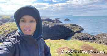 Kerry Washington shares snap as she explores North Coast - Belfast Live