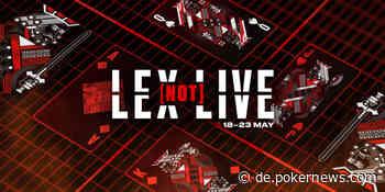 Lex Not Live II von 18. bis 23. Mai bei PokerStars
