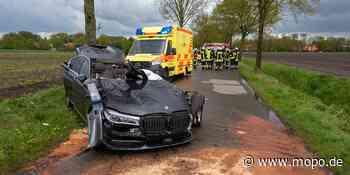 Unfall bei Soltau: Drei Insassen teils lebensgefährlich verletzt - Hamburger Morgenpost