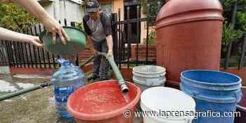 Suministro irregular de agua en Cojutepeque - La Prensa Grafica