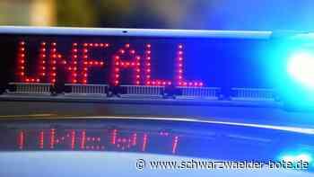 Zwischen Schwann und Eyachbrücke - Unfall mit drei Verletzten bei Straubenhardt - Schwarzwälder Bote