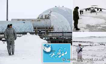 Inside Putin's huge military base at the North Pole as Moscow tells the West 'this is our land'