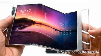 Faltbare Tablets und mehr: Samsung zeigt neue Displays