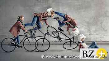 Serie rund ums Fahrrad : Alternative zum Radhelm: Fahrrad-Airbag bläst sich bei Unfall auf