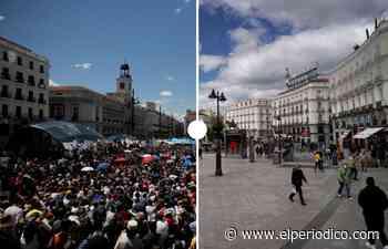 De Barcelona a Nueva York y de Madrid a El Cairo: regreso a las plazas del 15M - El Periódico