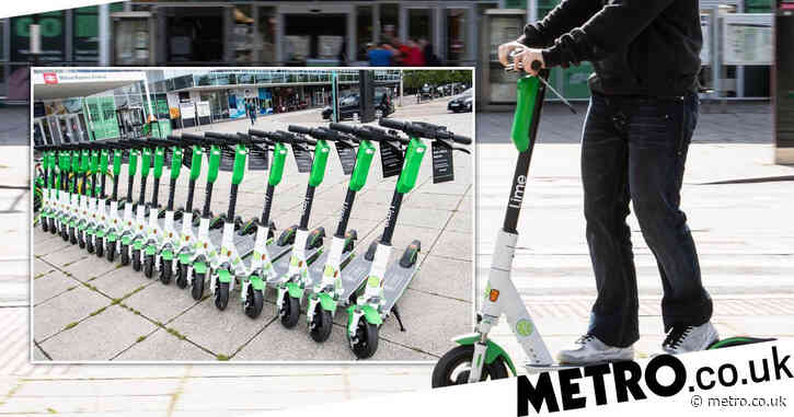 E-scooters allowed on London's roads from next month as new trial to begin