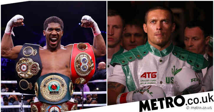 Oleksandr Usyk's promoter in talks for Anthony Joshua fight with Tyson Fury showdown now in doubt
