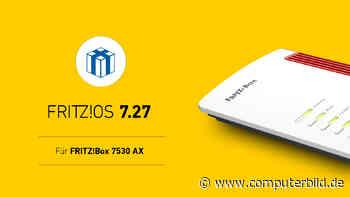 AVM: FritzOS 7.27 für weitere FritzBox verfügbar