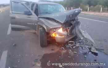 Accidente en carretera deja seis lesionados en San Juan del Rio - El Sol de Durango
