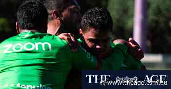 Rabbitohs sweat through bruising training session to prepare for Panthers test