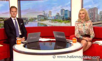 BBC Breakfast's Dan Walker reassures fans after Louise Minchin tears up live on-air