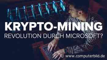 Krypto-Mining: Revolution durch Microsoft?